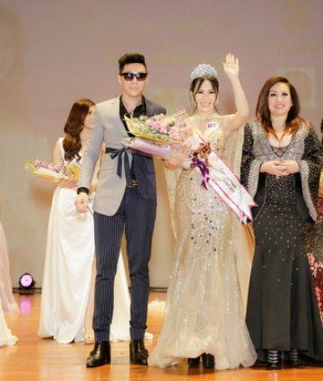 Người đẹp Lê Thùy Linh đoạt danh hiệu Á hậu 3 Hoa hậu Việt Nam toàn thế giới tại Đài Loan